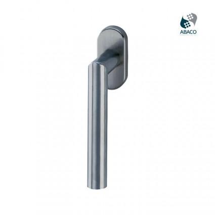 antimikrobiálne okenné kľučky Ronny DK - nerez (ušľachtilá oceľ matná) ABACO