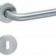 kľučka Lido R M15 - inox (ušľachtilá oceľ matná)