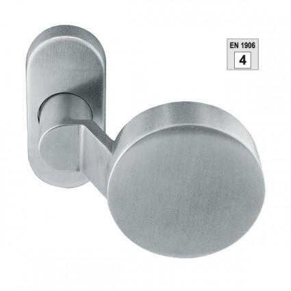madlo Rondo FIX 91381 TP4 ploché na kovovej rozete M15 - inox (nerez)