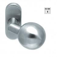 madlo Rondo FIX 91380 TP4 na kovovej rozete M15 - inox (nerez)