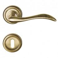 kľučka Altea R MC3 - mosadz bronz česaný