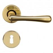 kľučka Elegant R M1 -  mosadz leštená