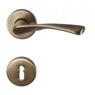 kľučka Wing R MC3 - mosadz bronz česaný