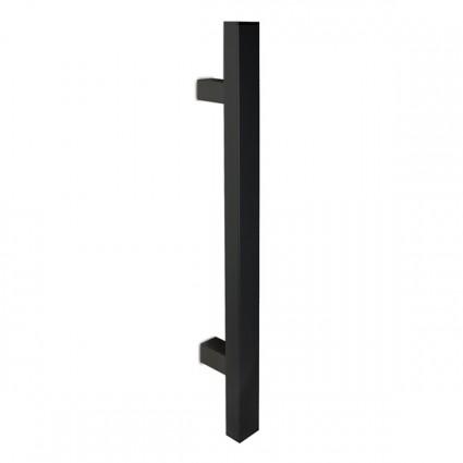 dverné madlo Design inox 1031 čierne - 400 mm