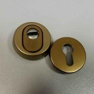 7156 F4 bezpečnostné rozety okrúhle 15 mm - bronz