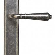 kľučky - Valencia M69 -  mosadz antik strieborná
