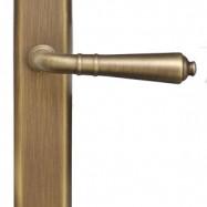 kľučky - Valencia MS3 -  mosadz starobronz