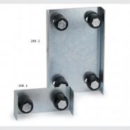 horné vedenie 2 valčeky 200.1 ZVAR (40-50 mm)