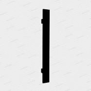 dverné madlo Design inox 919 čierne - 800/600 mm