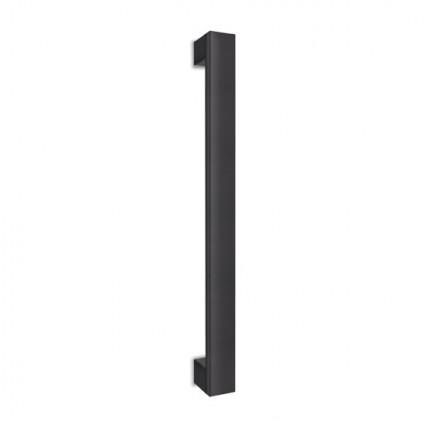 dverné madlo Design alu 989 čierne - 800/760 mm