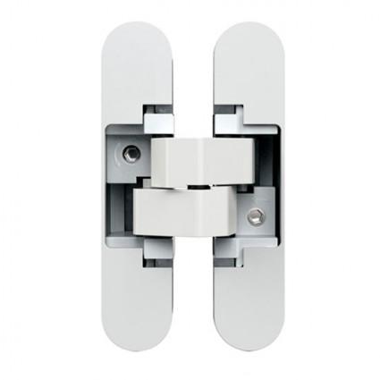 skryté pánty AN140 3D nastaviteľné biele