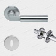objektové kovanie Bauhaus R M15 - inox (ušľachtilá oceľ matná) - trieda použitia 3 (200.000 cyklov)
