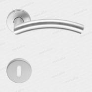 kľučka Catania R M15 - inox (ušľachtilá oceľ matná)