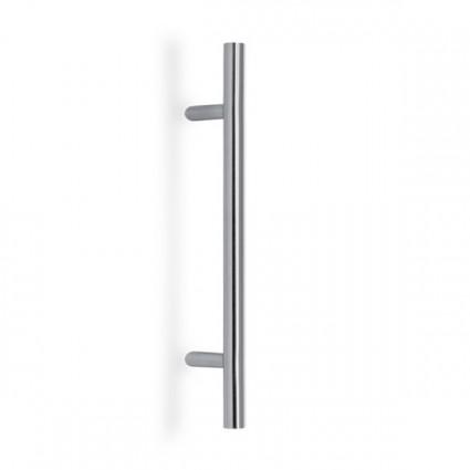 dverné madlo objektové PH90 vyosené 45°- ø 32mm dĺžka 1200mm rozstup 1000 mm inox (nerez)