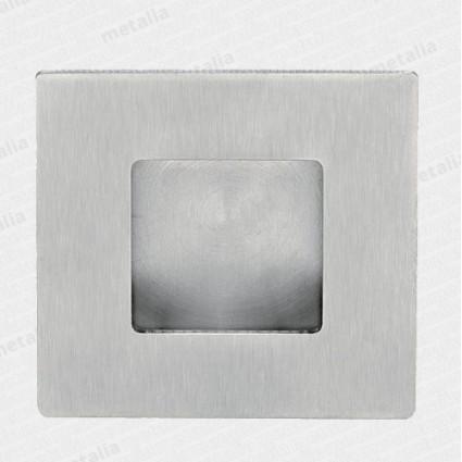 mušľa 01023 M15 50x50 mm - inox matný (nerez)