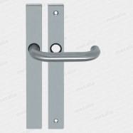kľučky Uno C M15 - inox (ušľachtilá oceľ matná)
