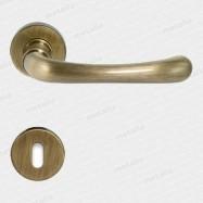 kľučka - Rossetti Gaia R MC3 - mosadz bronz česaný