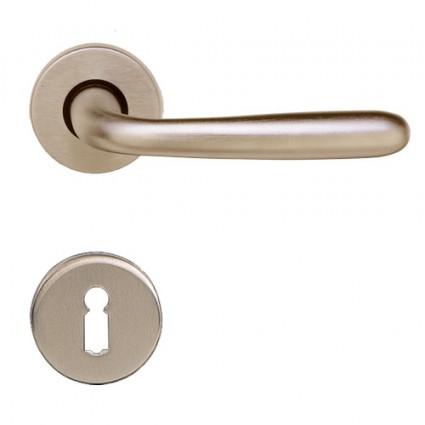 kľučka Omega R M9 - nikel matný