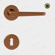kľučka Lucy R F4 - hliník bronzovaný