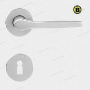 kľučka Lux R F1 - hliník strieborný