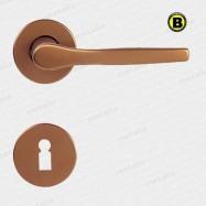kľučka Lux R F4 - hliník bronzovaný