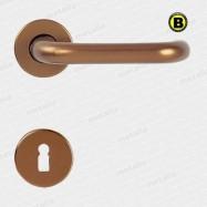 kľučka Modern R F4 - hliník bronzovaný