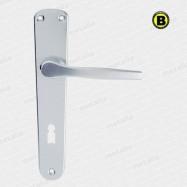 kľučky Lux F1 - hliník strieborný
