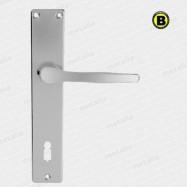 kľučky Lux I F1 - hliník strieborný