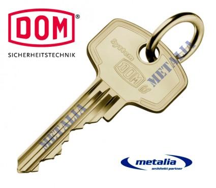 bezpečnostný kľúč DOM LS-5 - dodatočne