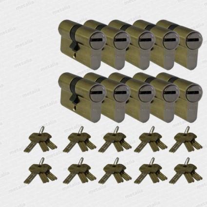 bezpečnostná cylindrická vložka DOM ix-10 - 10x SU