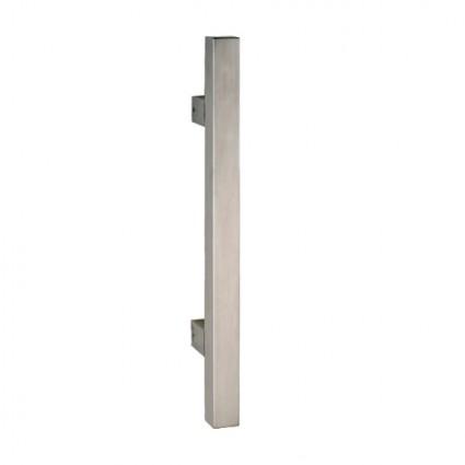 madlo Trento priame- 25x25mm dĺžka 800mm rozstup 600 mm inox (nerez)