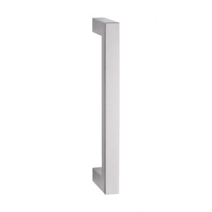madlo Milano priame- 25x25mm dĺžka 325mm rozstup 300 mm inox (nerez)