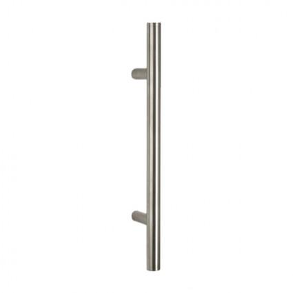 madlo Tesero - priame ø30mm dĺžka 800mm rozstup 600 mm inox (nerez)