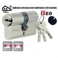bezpečnostná cylindrická vložka ISEO R6 SKG**