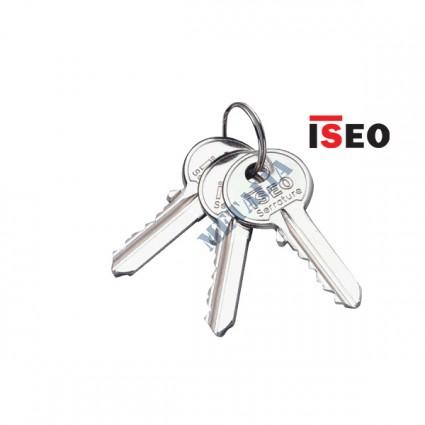 kľúč ISEO F5 - dodatočne