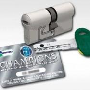 bezpečnostná cylindrická vložka Champion C30