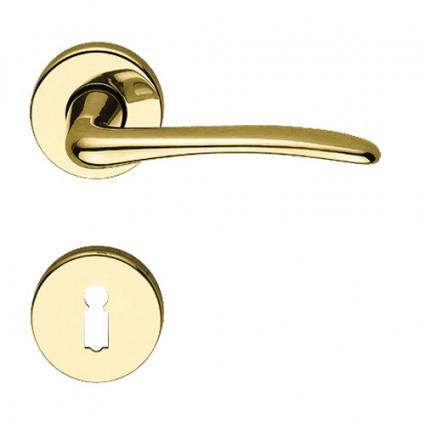 kľučka - Rossetti Capellino M1 - mosadz zlatá leštená