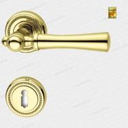 kľučka - Rossetti Carlo R M1 - mosadz zlatá leštená