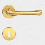 kľučka - Rossetti Gaia R M2 - mosadz matná