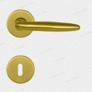 kľučka Verena R M2 - mosadz matná