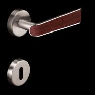 kľučka - Deep - orech M9 - nikel matný 48 mm