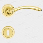 kľučka - Rossetti Klotho 2 M1/M2 - mosadz zlatá leštená/matná