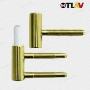 pánty 101/15 mm - zlatý