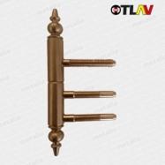 pánty 221/15 mm - bronz (vrchný diel do krídla dverí)