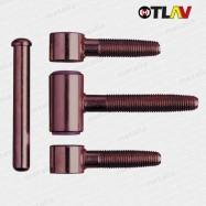 pánty 320/18 mm - bronz