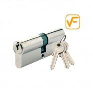 cylindrická vložka VF 25/35mm nikel - 3 kľúče